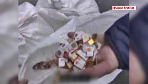 Cui aparțin cei 5 saci cu milioane de cartele SIM, găsiți pe o stradă din București