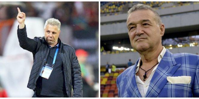 Gigi Becali l-a dat de gol pe Sumudica fara sa vrea! Dezvaluirea facuta de patronul Stelei:  Ii facea schimbarile la pauza!