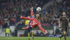 Golul de 100 de milioane de euro din Liga Campionilor! Reusita FABULOASA a lui Griezmann in fata Romei! VIDEO