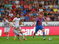 A patra e cu noroc pentru cehi :) VIDEO | Imaginile serii in Europa League: ce a facut antrenorul lui Plzen imediat dupa victoria cu Steaua