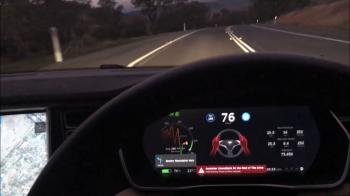 Sofatul se schimba definitiv! Ce se intampla daca adormi la volanul unei Tesla! VIDEO