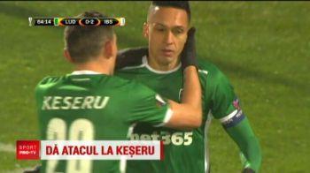 Keseru vrea sa plece de la Ludogorets, dar exclude revenirea la Steaua! Anuntul facut de atacantul nationalei