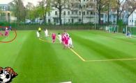 Nu e joc video! Lovitura libera IREALA inventata de o echipa U16 din Germania! VIDEO