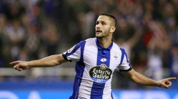 """Cat mai rezista Andone? Atacantul a fost din nou rezerva la Deportivo: """"Golgheterul din sezonul trecut e nerabdator"""""""