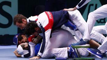 Franta a castigat Cupa Davis pentru a zecea oara in istoria sa. 28.000 de spectatori pe stadionul lui Lille