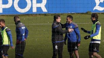 Florin Andone s-a BATUT cu un coleg la antrenament, sedinta de pregatire a fost oprita