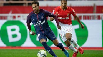 Pe urmele lui Ronaldinho! Neymar a inventat un dribling senzational cu Monaco: cum si-a UMILIT un adversar cu o fenta senzationala! VIDEO