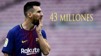 Messi a redevenit cel mai bine platit fotbalist din lume, in timp ce Ronaldo a iesit din TOP 3. Cum arata clasamentul, cu 5 fotbalisti din China in primii 10