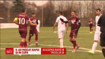 Rapid spre o finala de VIS in Cupa! Pancu o asteapta pe Steaua in lupta pentru primul trofeu de la reinfiintare