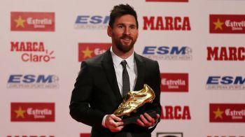 Cum arata CLASAMENTUL GHETEI DE AUR! Messi e doar pe locul 13 si ce jucator surpriza ofera Premier League