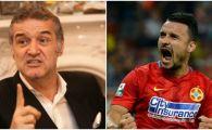 Reactia lui Becali la golul din corner marcat de Budescu, dupa ce i-a dat INTERZIS sa mai execute si l-a amenintat pe Dica cu demiterea
