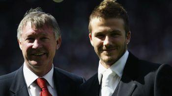 """Declaratia geniala a lui Beckham la aproape 15 ani de la gheata primita in cap de la Sir Alex Ferguson: """"Abia atunci am realizat"""""""