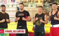 """Asta seara boxam in familie! Doua perechi de frati de la Dinamo lupta pentru centuri si medalii. Regula sfanta: """"Nu ne batem intre noi"""""""