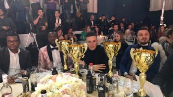 Stelistii au monopolizat Gala Fotbalului! Budescu, fotbalistul anului; Gnohere, Man si Benzar au fost premiati si ei