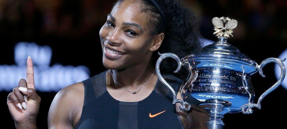 """""""Distractia"""" s-a terminat! Serena Williams revine pe teren! Care e primul turneu la care va participa"""