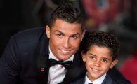GENIAL! Ce s-a intamplat la scurt timp dupa ce fiul lui Ronaldo a anuntat pe net ca Messi e idolul sau! FOTO