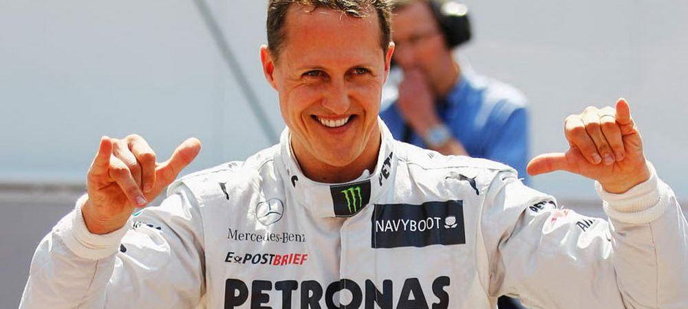 Vesti BUNE despre starea lui Michael Schumacher! Anunt de ULTIMA ORA din partea familiei legendei F1