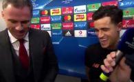 """Moment GENIAL dupa ce Coutinho a marcat 3 goluri cu Spartak! A sunat telefonul in mijlocul interviului: """"Te cauta Barcelona?"""" Care a fost replica"""