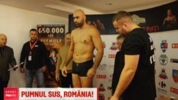 Romania da KOmanda, vineri seara, la ProX! Durii din box au trecut azi cantarul