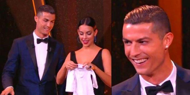 Raspunsul genial al lui Ronaldo dupa ce a castigat iar Balonul de Aur! Ce a spus ca isi doreste de Craciun
