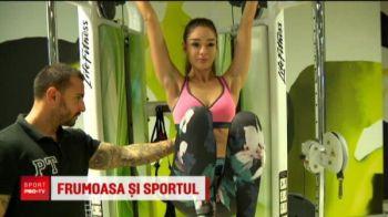 """Miss Romania merge la sala de 4 ori pe saptamana: """"Fac mult sport, sunt atenta la ce mananc"""""""