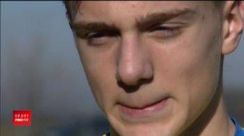 Are 15 ani, e jucator si ANTRENOR in Norvegia si vrea sa joace in nationala Romaniei!