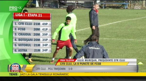 """Fantoma BLATULUI asupra Ligii 1? Muresan, ironic dupa victoria CFR-ului: """"Sunt multe rezultate care nu se explica. Nu ma astept sa bata Botosaniul cu Steaua, cred ca bate Steaua!"""""""