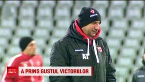 Miriuta, ALL IN pentru derby-ul cu Niculescu! :) Viitorul sau depinde de meciul cu Voluntari