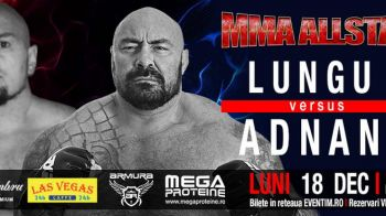 Sandu Lungu se costumeaza in Mos Craciun si intra in cusca pentru ultimul meci al anului! Gala MMA All Stars e luni la ProX!