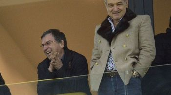Stelistii au inceput deja razboiul cu Lazio :) Cu cine s-a pozat Valeriu Argaseala imediat dupa tragerea la sorti