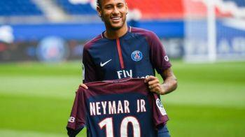 Neymar poate salva un club de amatori din Franta! Starul PSG-ului trebuie doar sa-si scoata tricoul la licitatie