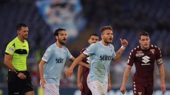 Decizia luata de Lazio, dupa scandalul de arbitraj de la meciul cu Torino! Ce au fost anuntati fanii adversarei Stelei