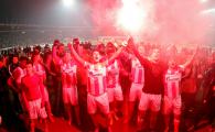 NEBUNIE in derby-ul de la Belgrad! Ce s-a intamplat in peluze la Partizan - Steaua Rosie
