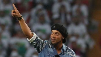 Ronaldinho se face politician! Vrea sa intre in partidul unui fost capitan de armata