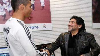 "Maradona a aflat ca Ronaldo s-a autodeclarat ""cel mai bun fotbalist din istorie"" si i-a raspuns! Mesajul lui El Pibe d'Oro"