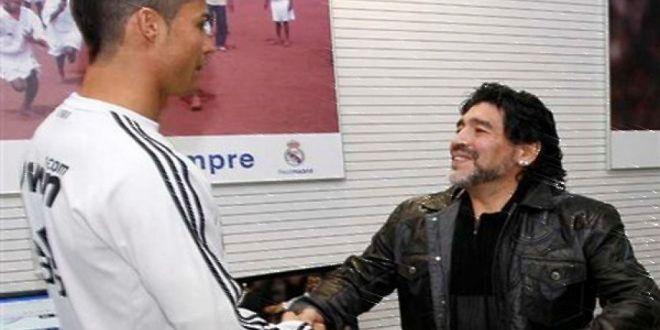 Maradona a aflat ca Ronaldo s-a autodeclarat  cel mai bun fotbalist din istorie  si i-a raspuns! Mesajul lui El Pibe d Oro
