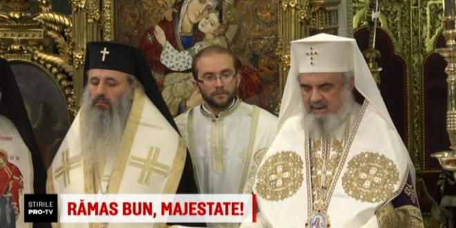 Patriarhul Daniel, la slujba pentru Regele Mihai:  Regretam ca aceasta catedrala este prea mica