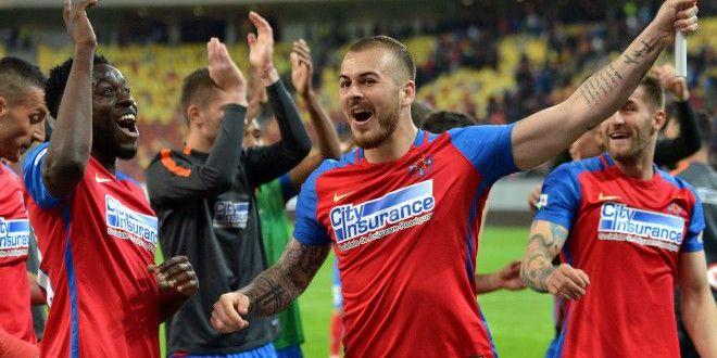 Iti multumim, Denis Alibec!  Surpriza: atacantul stelist s-a implicat in salvarea unei echipe de traditie a fotbalului romanesc