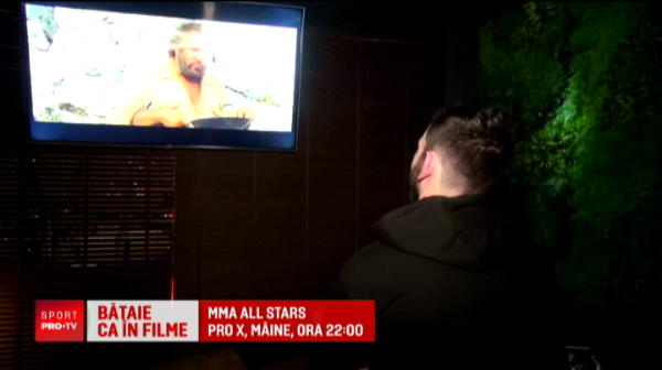 "Nepotul lui Bud Spencer ""Piedone"" a venit in Romania si se bate luni seara la PRO X, ora 22:00"