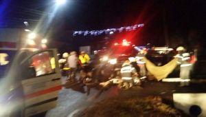 Accident grav pe Valea Oltului, acum câteva ore. Mai mulţi copii au ajuns la spital