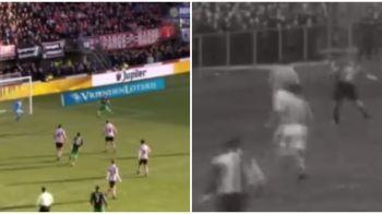 Poveste pentru legenda fotbalului! Un fotbalist de la Feyenoord a marcat la debut la fel ca strabunicul sau: VIDEO