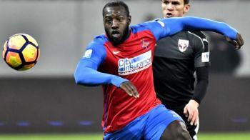 Suspendare drastica pentru Gnohere! Bizonul rateaza CFR si Dinamo in februarie