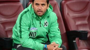 Reactia lui Dica atunci cand a aflat ca a ramas fara Gnohere! Bizonul nu va juca in derby-urile cu CFR si Dinamo din februarie