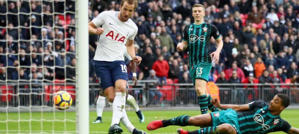 KANE, cel mai bun marcator al Europei in 2017: azi a trecut peste Messi! Tottenham 5-2 Southampton! Man United 2-2 Burnley
