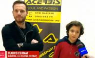 Tatal, artist in teren, baiatul, viitor arhitect de meserie! Cernat Jr nici nu vrea sa auda de fotbal VIDEO