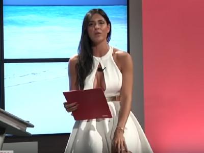 Cel mai viralizat clip al anului in Italia! Ce face aceasta prezentatoare TV in timp ce citeste o stire despre Cristiano Ronaldo VIDEO