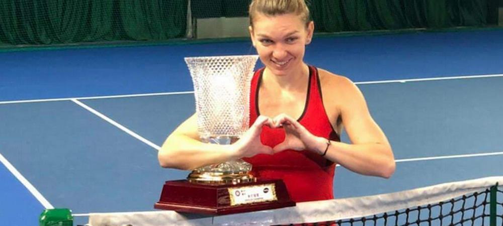 VICTORIEEE! Start lansat in 2018 pentru Simona Halep: 2 trofee in 2 ore la Shenzhen! Simona Halep si Irina Begu au castigat titlul la dublu