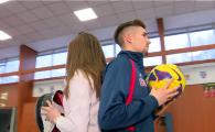 VIDEO Golgheterul CSA Steaua, pregatiri la SCRIMA pentru derby-urile cu Rapid! Sora lui e campioana mondiala