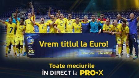 Toata Romania vede Romania! Traim sarbatoarea fotbalului: UEFA Euro 2018 se vede INTEGRAL in direct la PRO X! Cu cine suntem in grupa si programul meciurilor