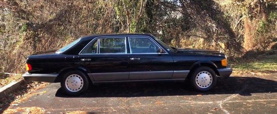 """Era considerata cea mai luxoasa masina in urma cu mai bine de doua decenii! Cat costa acum unul dintre """"hit-urile"""" date de Mercedes"""
